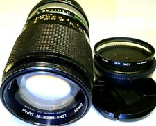 CANON 135mm f2.5 FD SC Manual Lens adapted to Sony E mount cameras α6500 α5300