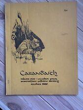 Rare 1969 Tolkien LOTR Fanzine Zine Vintage Carandaith #4 Australia Fantasy