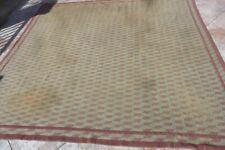 grand tapis vers 1950 laine