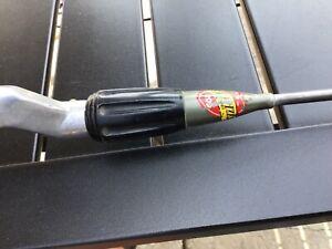 """Vintage Gep Actionized steel  Rod metal fishing rod  4'6"""""""