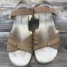 Rockport Women's Sandals Flat Sling Back Strap Closure Comfort Shoe 9.5 W