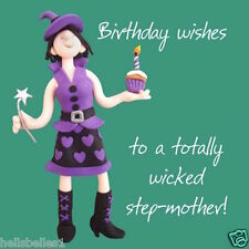 SANTO Maccarello Step-Mother 's Birthday Card * Gratis 1ST classe P & p *