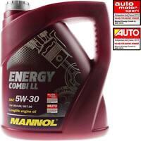 4 Liter Original MANNOLMotoröl Energy Combi LL 5W-30 Engine Oil Öl