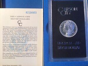 1882cc-MORGAN SILVER DOLLAR -GSA