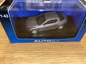 Autoart 55924 Mazda RX-8 Titanium Gray 1:43 Box 6