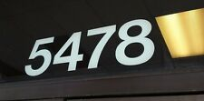 Address Numbers Decal White  5in.$5.99 Custom made for you! FREE SHIPPING
