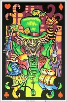 Mad Hatter Blacklight Poster, 23 inches x 35 inches