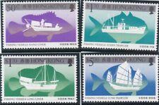 Hong Kong. Fishing vessels. 1986 MNH set