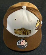 Nuevo Denver Nuggets UNK NBA Baloncesto Casquillo Cabido-tamaño 7 1/4