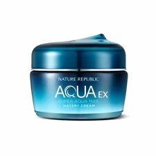 [Nature Republic] Super Aqua Max Ex Watery Cream - 80ml / Free Gift
