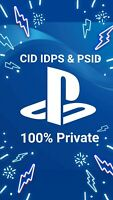 @100% Private@ PS3 Console ID CID IDPS and PSID only warranty