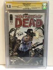 Walking Dead #1 Portland Variant CGC Signature Series 9.8 Kirkman, Moore, Golden