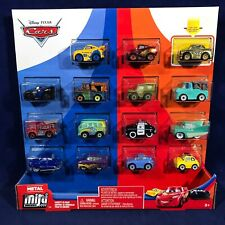 Pixar Cars MINI RACERS Variety 15-PACK - Golden Chick Hicks METAL VEHICLES Red