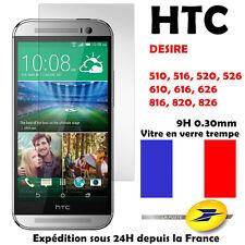 vitre film protecteur protection d'écran verre trempé HTC Desire 626 620 820 510