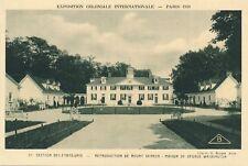 1931 Paris Exposition Coloniale Internationale Etats-Unis USA Mount Vernon