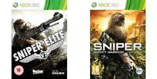 Sniper Elite v2 & Sniper Ghost Warrior Xbox 360 PAL Format