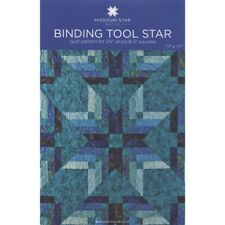 """Binding Tool Star Quilt Pattern for 2-1/2"""" strips & 5"""" squares - 0001413"""