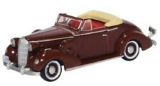 1936 BUICK SPECIAL CONVERTIBLE HO SCALE-OXFORD DIECAST BS36003 - CARDINAL MAROON