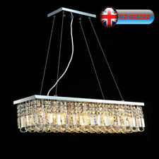 AI Lighting Modern Bar Ceiling Pendant Chandelier Raindrops K9 Crystal