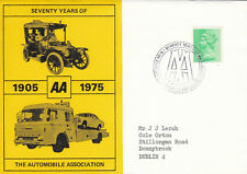 (14253) CLEARANCE GB AA Cover Automobile Association 75 Basingstoke 29 June 1975
