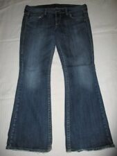 Womens Silver Jeans Size 32 x 31 Eden Boot Cut Thick Stitch