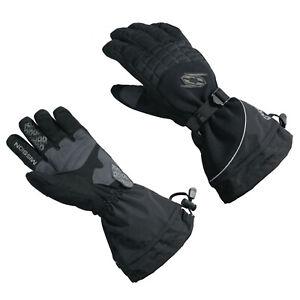 Mens Castle X MISSION Snowmobile Gloves Gauntlet Winter Snow Waterproof