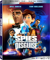 Spies in Disguise [New Blu-ray] Dolby, Digital Theater System, Subtitl