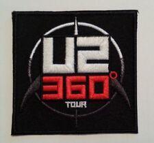 """U2 Bono 360 Degree Album Tour~Embroidered Applique Patch~3"""" x 3""""~Iron or Sew on"""