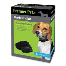Premier Pet BARK COLLAR • AUTOMATIC BARK CONTROL • 6 LEVELS • VIBRATION • DOG