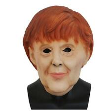 Angela Merkel Mask Halloween Unisex Costume German EU Fancy Dress Latex Adults