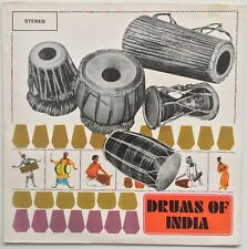 J.P. GHOSH Drums of India WORLD RECORD CLUB (INDIA) EX/VG+