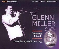 The Glenn Miller Story, Vols. 1-4 by Glenn Miller (CD, Apr-2004, 4 Discs, Avid)
