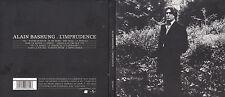 CD DIGIPACK 13T ALAIN BASHUNG L'IMPRUDENCE DE 2002 BARCLAY