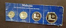 Malaysia 50-20-10-5 SEN 1980 proof