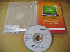 Microsoft Windows 7 Home Premium 64 Bit w/SP1 Full English Vers. DVD MS WIN=NEW=