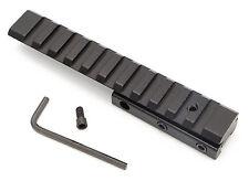 .22 Rifle Airgun Crossbow Scope Rail Adapter Riser 11mm Dovetail to Weaver