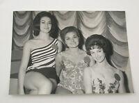 PAUL POPPER vintage Photo Foto Miss World 1962 Germany France Ita Silbergelatine
