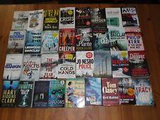 COLLECTION JOB LOT OF 33 CRIME THRILLER BOOKS JO NESBO IAN RANKINKIN PETER JAMES