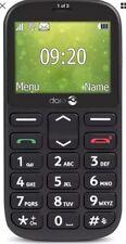 New Doro 1360 Black Dual Sim Unlocked Big button Elderly Seniors Mobile Phone