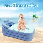 Inflatable+Bathtub+PVC+Folding+Portable+Blowup+Bathtub+Adult+Warm+Spa+Tub+New+