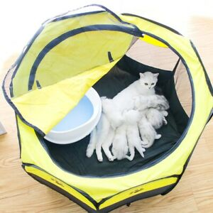 Pet Tent Detachable Outdoor Waterproof  Cat Dog House Foldable Pet Delivery Room