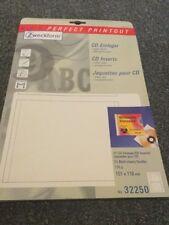 Avery Zweckform CD-Einleger weiß 185g Inh. 25 Stück (4004182322505)