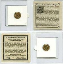 Valentinian I Certified Authentic Ancient Roman Coin