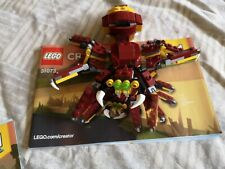 Lego Creator 3 In 1 Mythical Creatures 31073 Complete and boxed
