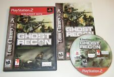 Tom Clancy's Ghost Recon GH COMPLETE GAME for your Playstation 2 PS2 system GC