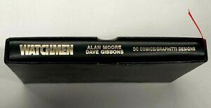 Watchmen Hardcover, Leather Slipcase edition - Graphitti 1987 - Alan Moore