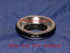 Voigtlander Retina DKL lens To Pentax K mount camera Adapter K-r K20D K-5 K-01