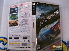 PSP GAME RIDGE RACERS (ORIGINAL USED)