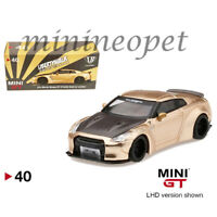 MINI GT 40 LIBERTY WALK LB WORKS NISMO NISSAN SKYLINE GT-R R35 1/64 CARBON HOOD