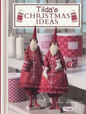 Tilda's Christmas Ideas New Paperback Book Tone Finnanger